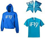 Chosen Bows iFly Super ComBow Hoodie, Neon Blue, Adult Large