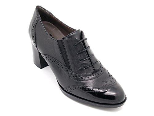 Piel de para vestir Zapatos de negro MELLUSO mujer Uqnf4tPwxU