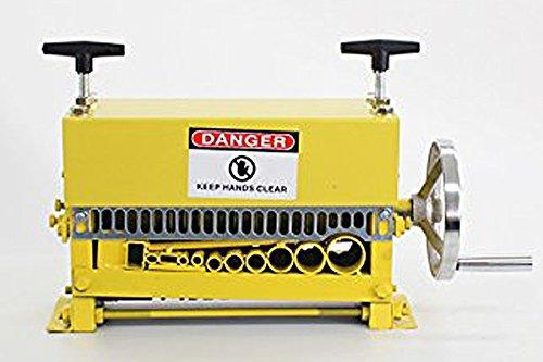 手動 ワイヤーストリッパー ケーブルストリッパー ケーブル皮むき機 皮剥き機 剥線機 1.5mm~35mm イエロー B00QF2SLNA