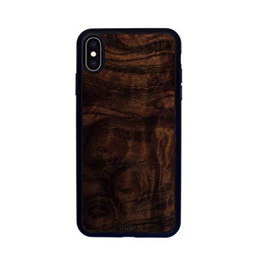 Walnut Burl Phone Case | Thalia Exotic Wood Cases iPhone Xs Max (Walnut Case Burl)