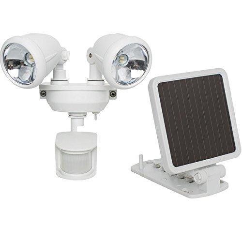 The BEST MAXSA INNOVATIONS SOLAR LED SEC LIGHT WHT by Generic