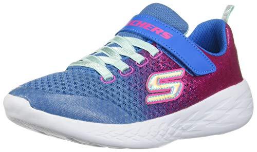 Go Splash blue Pink Zapatillas 600 Niñas Azul Para Skechers Blnp Neon sprinkle Run UzwIpZqd