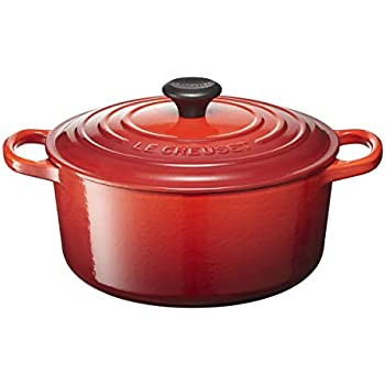 Le Creuset Signature Enameled Cast-Iron 3.5 Quart Round French (Dutch) Oven, Cherry