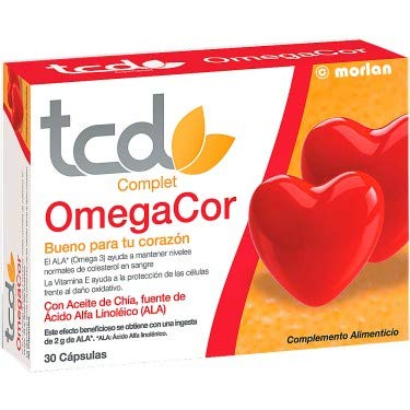 Tcuida Complet OmegaCor, 30cápsulas: Amazon.es: Belleza