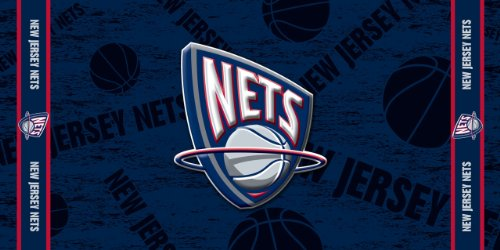 Products New Jersey Nets - NBA New Jersey Nets Fiber Reactive Beach Towel