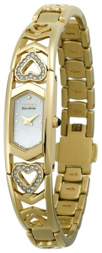 Citizen Women's EG2272-50D Eco-Drive Silhouette Swarovski Crystal Accented Watch ()
