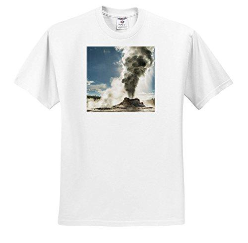 Danita Delimont - Geothermal - Erupting Castle Geyser, Upper Geyser Basin, Yellowstone NP, Wyoming. - T-Shirts - Toddler T-Shirt (2T) (TS_260588_15) ()