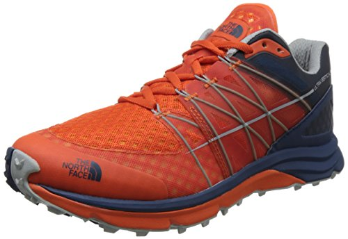 The North Face M Ultra Vertical, Scarpe da Fitness Uomo Multicolore (Scarlet Ibis/Shady Blue 4dm)