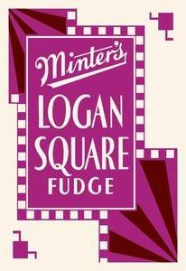 (Minter's Logan Square Fudge Fine art canvas print (20