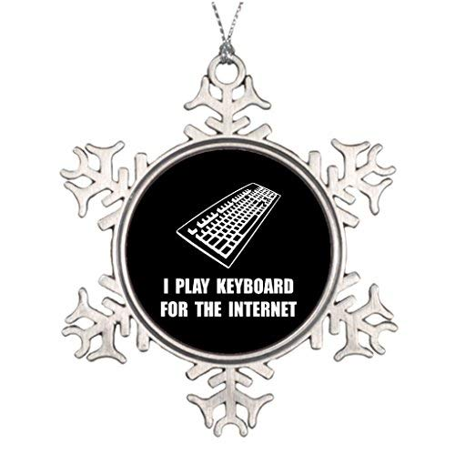 Vehfa Personalised Christmas Tree Decoration Christmas Trees Decorating Ideas Funny Computer Halloween Snowflake Ornaments -