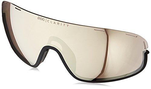 POC - Crave Spare Lens, Lightweight Sunglasses, Violet/Silver Mirror (Lenses Clear Spare)