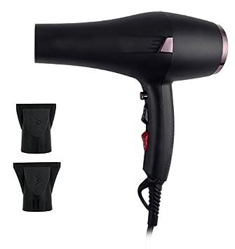 Secador de pelo NegativeIonic, secador de pelo profesional 2400W con velocidad de 2 y ajuste