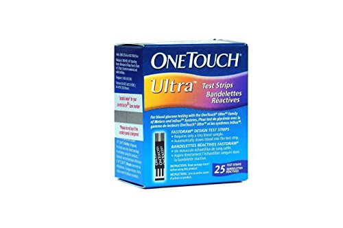 One Touch Ultra - OneTouch Ultra Test Strips - 25 Count -