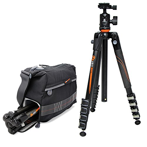 Vanguard VEO 37 Shoulder Bag and VEO 235AB Aluminum Travel Tripod with Ball Head Kit by Vanguard