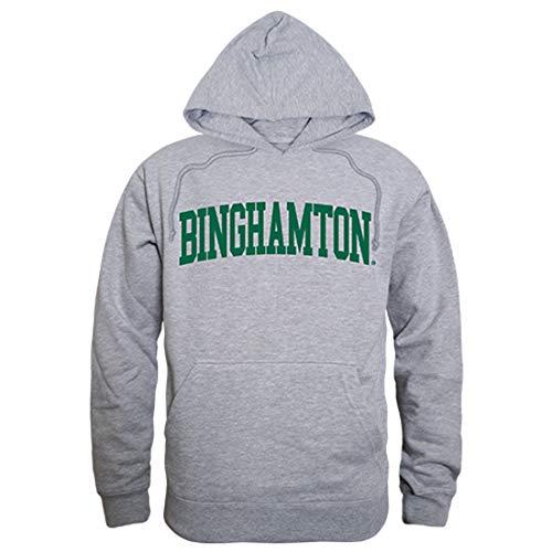 - Binghamton Bearcats NCAA Unisex Men's Game Day Hoodie - Small, Heather Grey