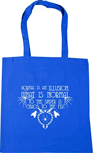 HippoWarehouse Is Illusion Tote Spider What Shopping The An Fly Normal Blue litres The Beach Is Bag Cornflower To Gym Normal Chaos To Is x38cm 42cm 10 rtqwZrXz