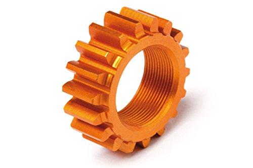 HPI Racing Threaded Pinion 18Tx12mm (1M) (Orange) Nitro 3 106630 ()