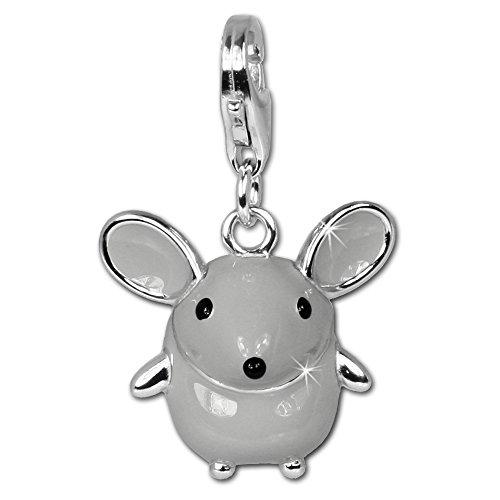 Enamel Mouse Charm - 3