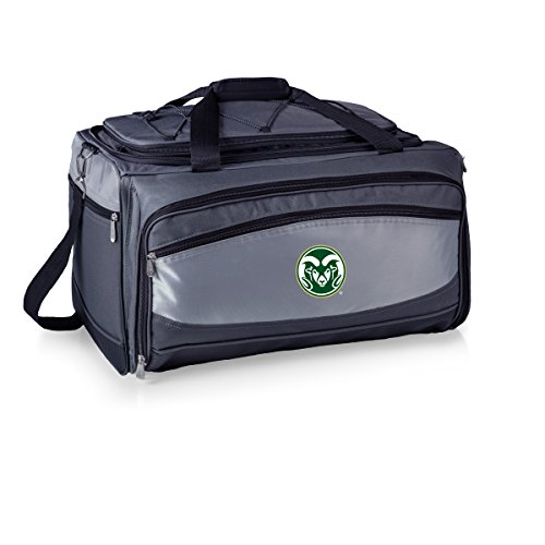 PICNIC TIME NCAA Colorado State Rams Buccaneer Tailgating Cooler Grill by PICNIC TIME