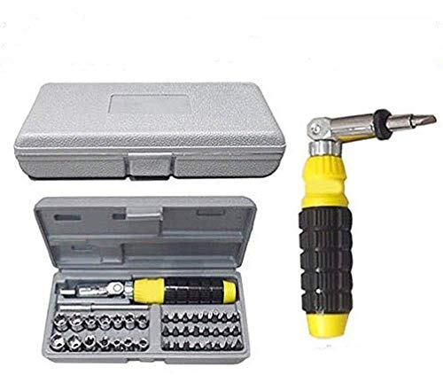Jeval Screw Driver Tool Kit with Socket Wrench Sleeve Suit Hardware Auto Car Repair Tools Socket Wrenches