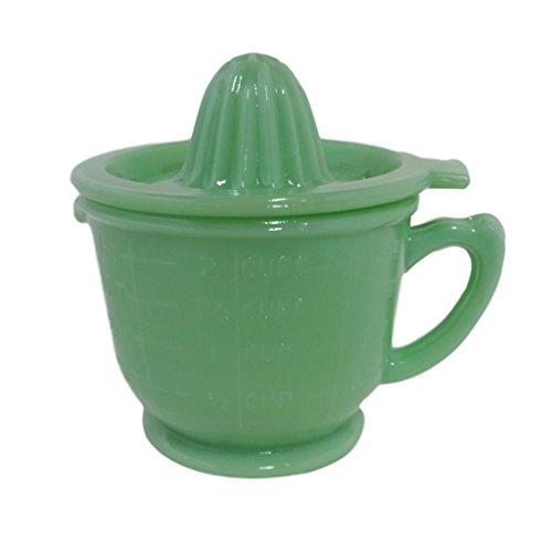 uction Depression Glass Juicer (2 Cup, Jadeite) (Depression Glass Juicer)