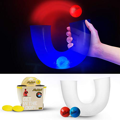 pindaloo Juggling Skill Toy with 1 Ball | an Exciting New Game for Kids Teens and Adults – Indoor and Outdoor Play…