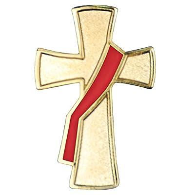 Deacon Cross Lapel Pin from Terra Sancta Guild