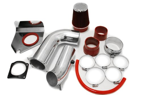 Cold Air Induction Intake System with Air Filter - Ford Mustang 3.8L V6 1999-2004
