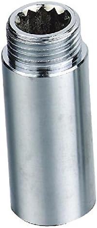 48082/C Rallonge pour robinet laiton bien poli chrom/é 1//2/X 1//filetage 2ag x 50/mm Longueur