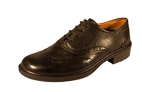DB Zapatos Extra Anchos, Mocasines Formales con Cordones, Zapatos Negros - Negro, 11 UK: Amazon.es: Zapatos y complementos