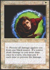 Magic: the Gathering - Circle of Protection: Black - Ice Age
