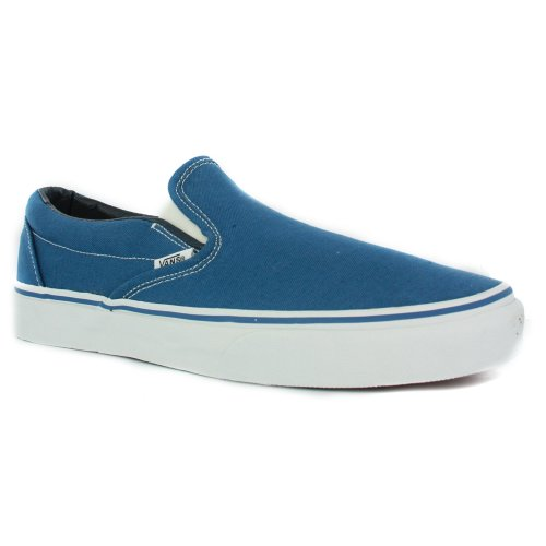 Bleu Basses Baskets on navy Mixte Slip Vans Adulte Classic 7q4ATwn0