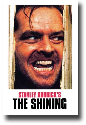 The Shining Poster Movie Promo 11 x 17 inches Stanley Kubrick Face Heres Johnny