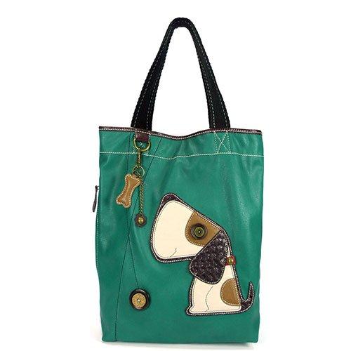 Leather Tote Dog - CHALA Women's Tote Shoulder Handbag - Toffy Dog Purse