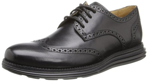 Cole Haan Mens Lunargrand Wingtip Oxford Noir
