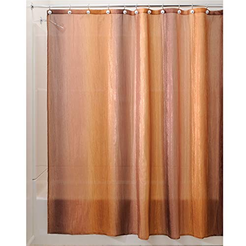 - InterDesign Ombre Fabric Shower Curtain Water-Repellent and Mold- and Mildew-Resistant for Master, Guest, Kids', College Dorm Bathroom, 72