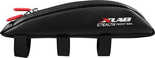 XLAB Stealth Pocket 400 Frame Pack: Carbon (Cycle Frame Carbon)