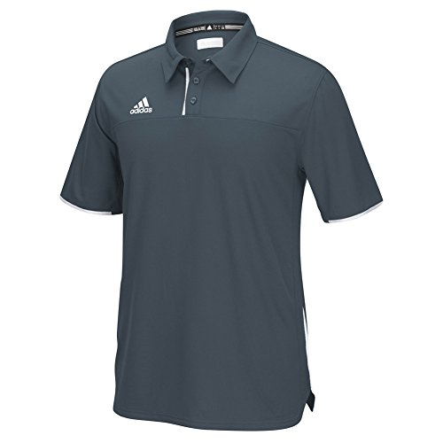 adidas Mens Climacool Utility Polo Shirt (XX-Large, Onix)