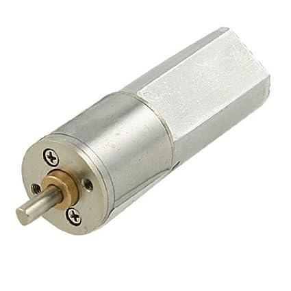 Amazon.com: DealMux 6 rpm 12V 0.5A High Torque Elétrica DC Voltada substituição Motor: Automotive