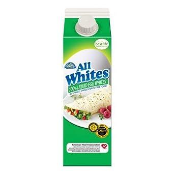 Las granjas de vidrio líquido Huevo allwhites 32 oz caja de ...
