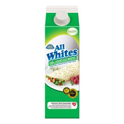 CRYSTAL FARMS LIQUID EGG WHITES ALLWHITES 32 OZ CARTON PACK OF 2