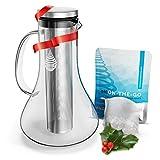 pH REPLENISH Glass Alkaline Water Pitcher - Alkaline Water Filter Pitcher by Invigorated