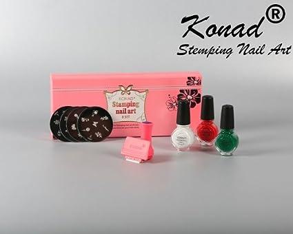 Konad Set B Professional Kit For Stamping Nail Art