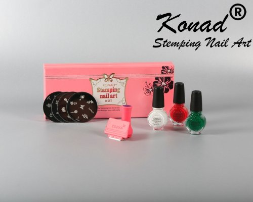 Amazon Konad Set B Professional Kit For Stamping Nail Art Arts