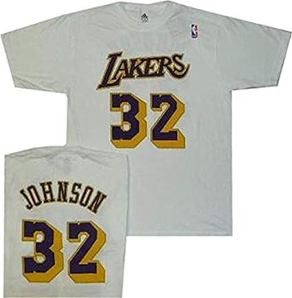 adidas Los Angeles Lakers Magic Johnson Blanco Pro Estilo ...