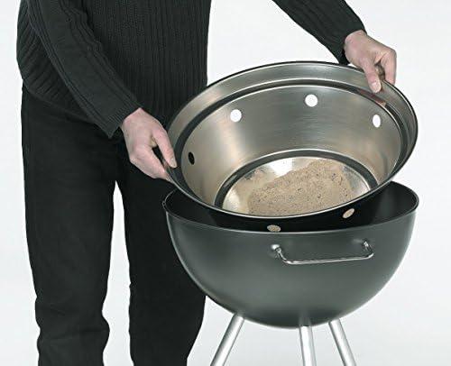 Dancook 1000 - Barbecue boule avec grille de cuisson de 46cm, moyen modèle.