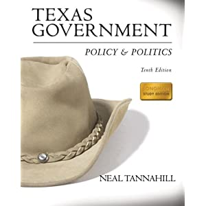 Texas Government: Policy & Politics- (Value Pack w/MySearchLab) (10th Edition)