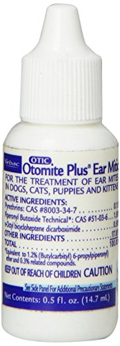 Virbac Otomite Plus Ear Mite Treatment for Dogs and Cats