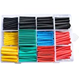 580pcs/SET Cable Sleeve Heat Shrink Tubing 2:1 Polyolefin Shrinking Assorted Wrap Wire Insulated shrinkable sleeving Tubes Set