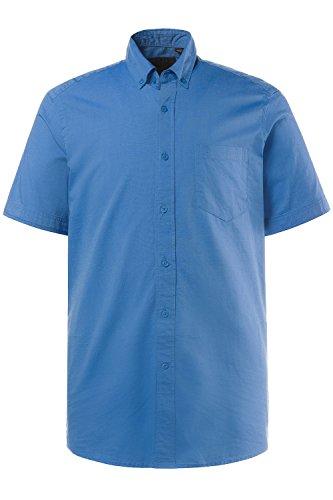 JP 1880 Homme Grandes tailles Chemise à manches courtes bleu 5XL 708244 73-5XL